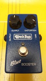 Pedal Black Bug Blue Booster