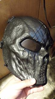 Mascara De Gotcha Airsoft Mask Malla Metálica Blakhelmet E
