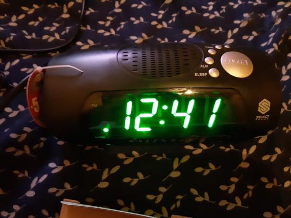 Radio Reloj Despertador Numeros Grandes