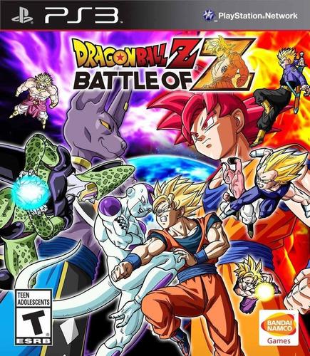 Dragon Ball Z Battle Of Z Juego Ps3 Original Play 3 Español