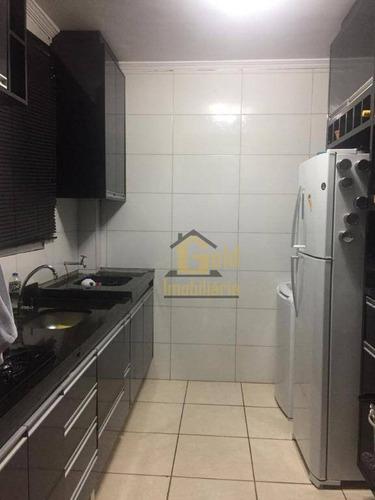 Apartamento Com 2 Dormitórios Para Alugar, 47 M² Por R$ 1.300/mês - Jardim Manoel Penna - Ribeirão Preto/sp - Ap2760