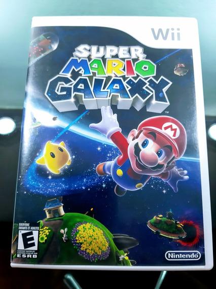Super Mario Galaxy - Nintendo Wii Completo Original American
