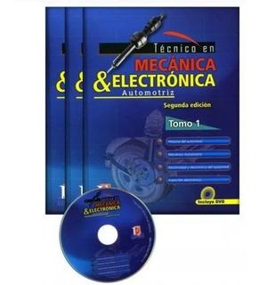 Libros Técnico En Mecánica Y Electrónica Automotriz 3 Tomos