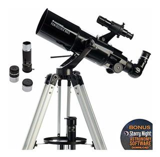 Celestron 21087 Telescopio Powerseeker 80azs Negro