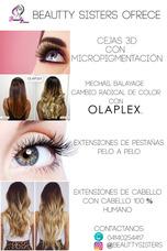 Limpieza De Cutis, Cejas 3d, Extensiones Cabello/pestañas