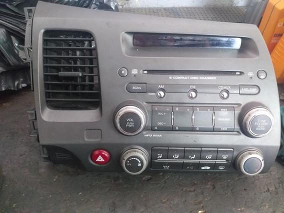 Radio Civic 6 Disc Compact Disc Changer 6 Cd Com Código