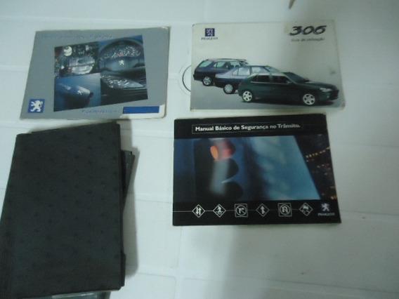 Manual Do Proprietário Peugeot 306 Sedan/sw Ano 99.orig.usad