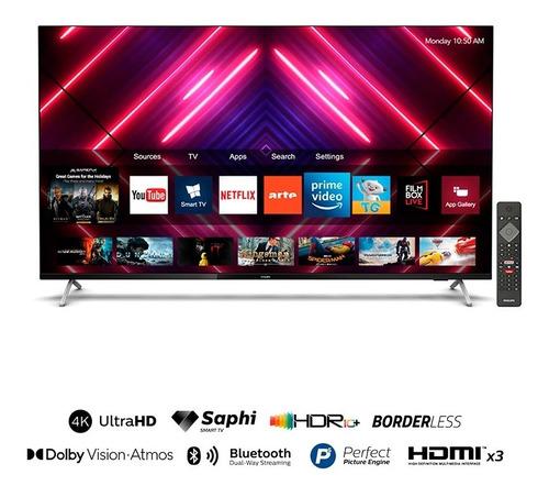 Imagen 1 de 6 de Smart Tv Philips 58   Uhd 4k 58pud7625 Bordeless