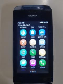 Celular Nokia Asha 305 Dual Sim Chip Desbl. Sem Acessórios