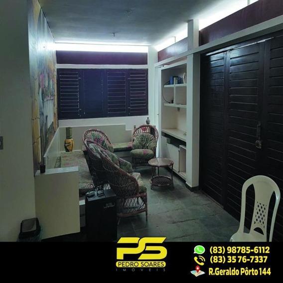 Casa Com 6 Dormitórios Para Alugar Por R$ 18.000,00/mês - Camboinha - Cabedelo/pb - Ca0367