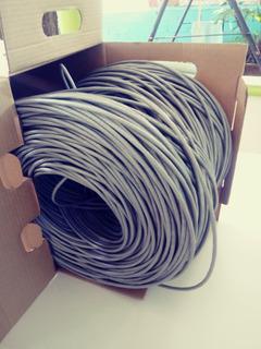 Cable Cat 6 Utp 4-pair Cable E2 Siemon 1000 Ft (pie) (gris)