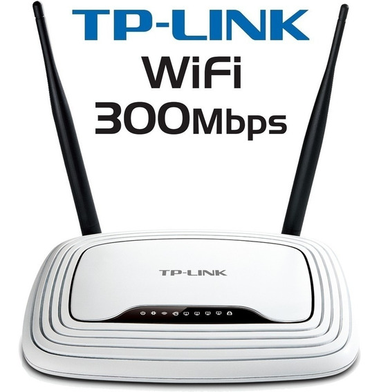 Router Wifi 2 Antenas Tp-link Tl-wr841n