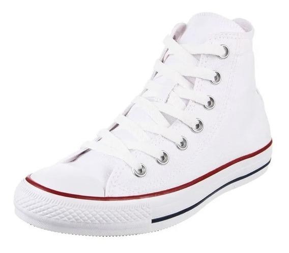 Zapatillas Converse Chuck Taylor Hi Bota Blanca Original