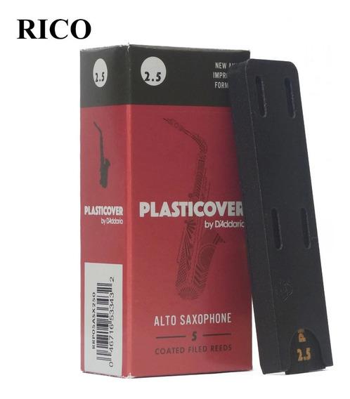 Cañas Plasticover Clarinete Saxo Alto Rico 2.5 / 3