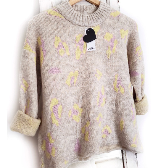 Sweater Animal Print De Mohair
