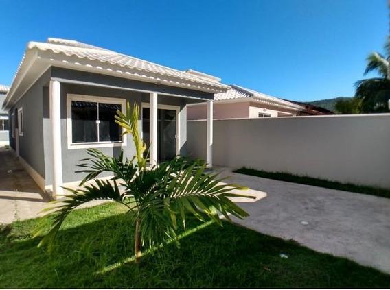 Casa Em Itaupuaçu, Maricá/rj De 90m² 2 Quartos À Venda Por R$ 349.000,00 - Ca528640