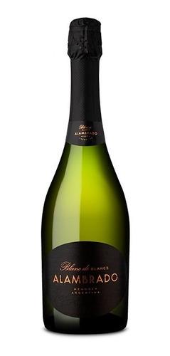 Imagen 1 de 5 de Espumante Alambrado Blanc De Blancs X 750ml Vinos Finos