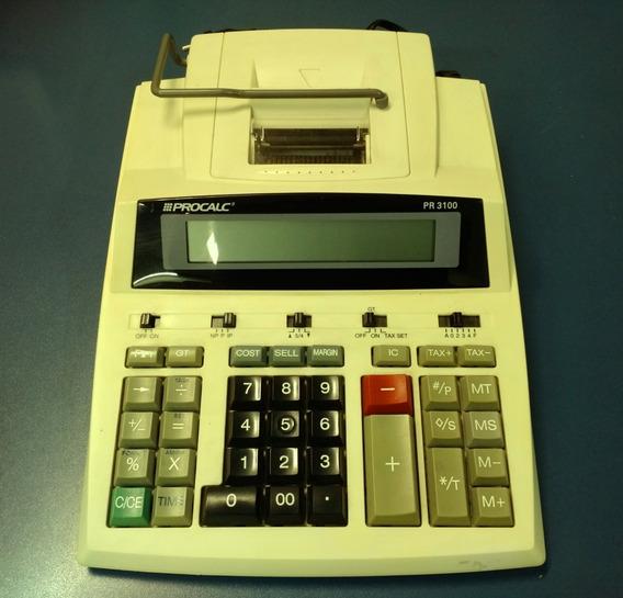 Calculadora Procalc Pr 3100 Revisada Garantia 3 Meses