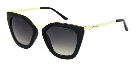 Óculos Sol Atitude 5340 Feminino + Limpa Lentes