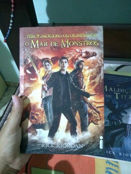 Livro Percy Jackson O Mar De Monstros