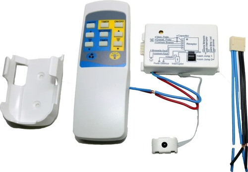 Controle Remoto Inteligente Vetilador Teto + Luz Bivolt Pw