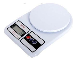 Balanza Digital De Cocina 1gr A 10kg Con Pilas En Caja