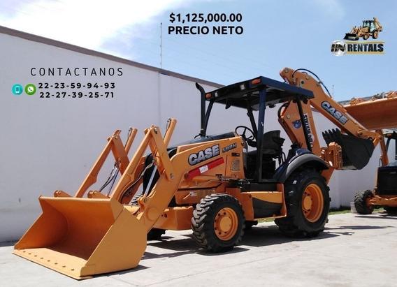 Retroexcavadora Case 580n 2012 4x4 Con Kit Precio Neto