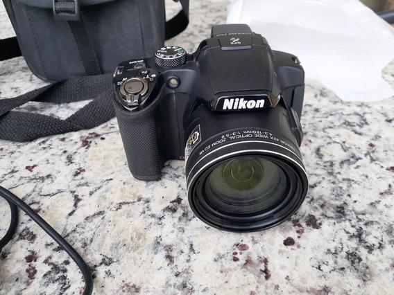 Câmera Nikkon P510 - Conservada