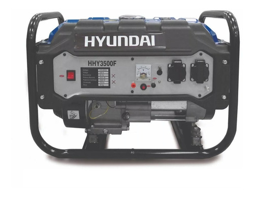 Generador Hyundai Hhy3500f 2800w Gran Potencia Garantia