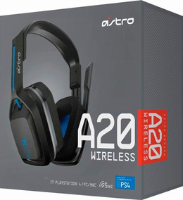 Audifonos Gamer Inalámbricos - Astro Gaming A20 Pc/mac/ps4