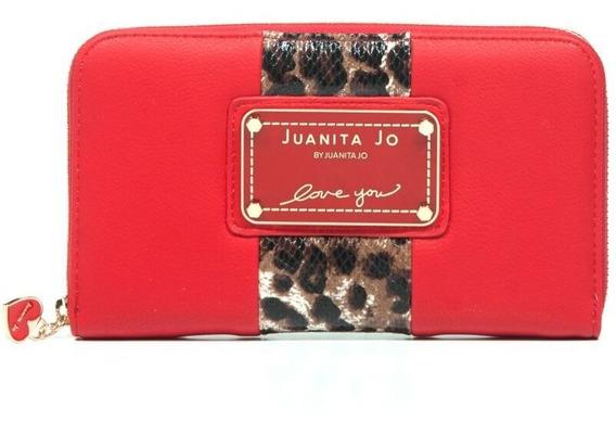 Billetera Juanita Jo Thick ( Rojo - 30052 )
