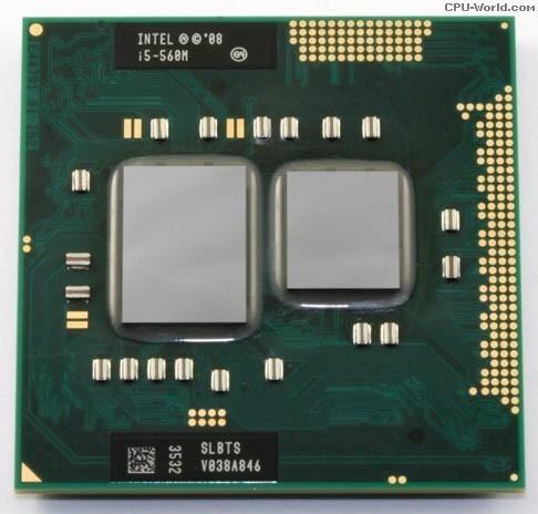 Processador Intel Core I5 560m 3mb Cache, 3.20 Ghz Máx