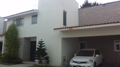 Se Renta Bonita Casa En Finca Real Metepec