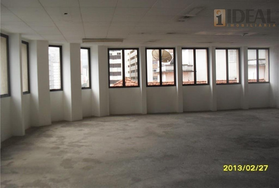 Conjunto Comercial Para Locação, Gonzaga, Santos. - Cj0002