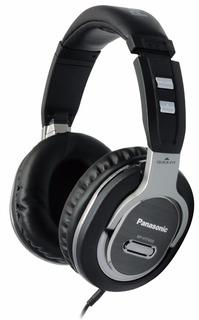 Auriculares Dj Audífonos Panasonic Estéreo Cómodos 50mm Plat