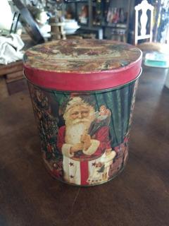 Lata Decorativa Natal