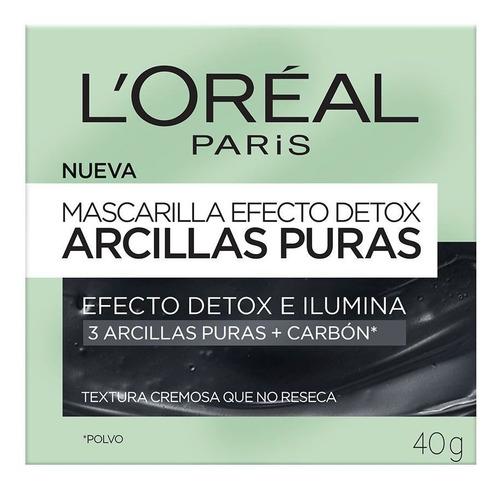 Mascarilla Efecto Detox Arcillas Puras 40g Silk Perfumes