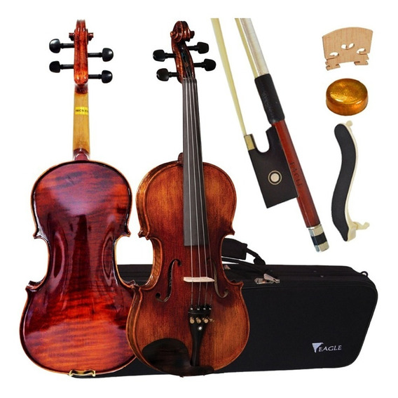 Violino Vk544 4/4 Profissional Eagle Espaleira