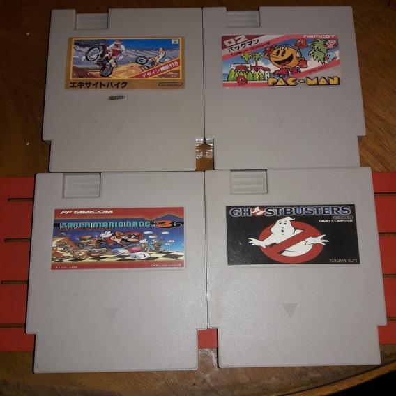 Super Mario Bros 3/ Pac-man/ Super Bike/ Ghostbusters P- Nes