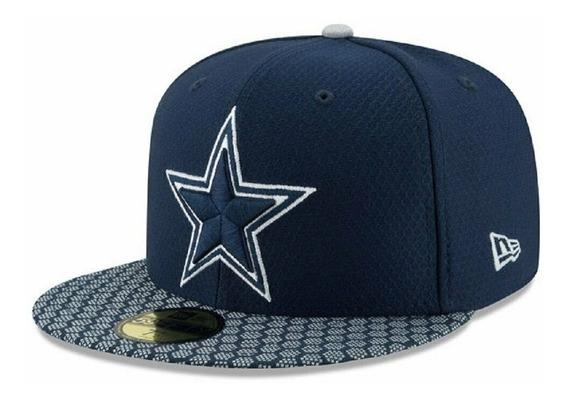 Dallas Cowboys New Era Gorra Sideline 59fifty 7 55.8 Cm