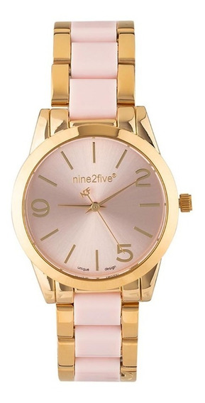 Reloj Nine2five Para Dama Afw19k15glrgs1 Dorado