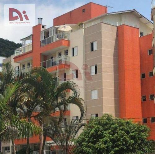 Cobertura Com 4 Dormitórios À Venda, 169 M² Por R$ 1.000.000,00 - Praia Grande - Ubatuba/sp - Co0001