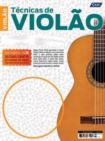 Revista Técnicas De Violão (violão Gospel) + Dvd - Edição 01
