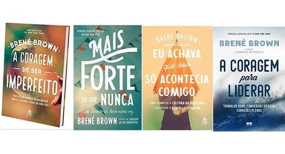 Kit A Coragem De Ser Brené Brown 5 Livros