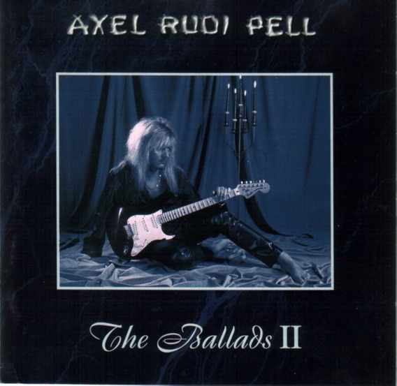 Axel Rudi Pell The Ballads Ii Cd Nuevo Nacional Nems