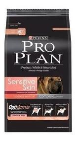 Ração Proplan Cães Adultos Sensitive Skin 10,1kg -2 Unidades