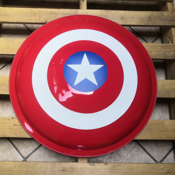 Liquidacion! Escudo Capitan America Acero Infinity Marvel