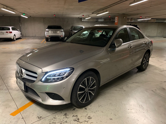 Mercedes-benz C 200 Exclusive At 2020 Plata Mojave