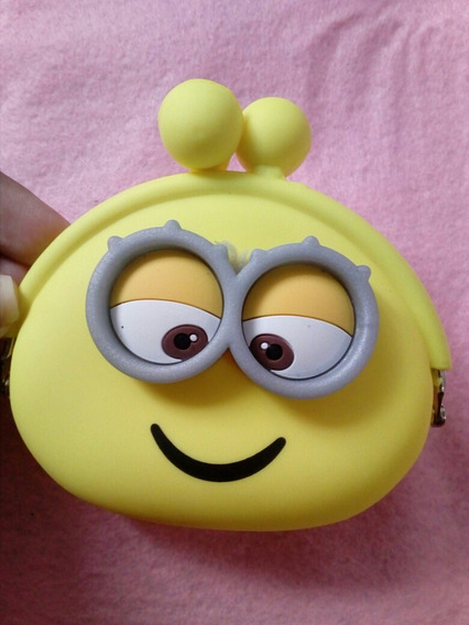 Monedero Minion Amarillo Silicon Importado Ultimo