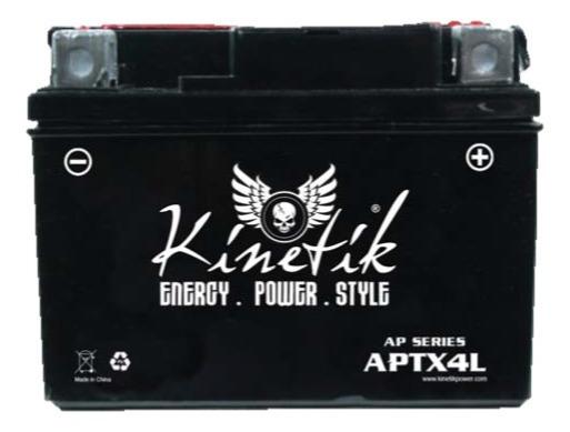 Moto Batería Sellada Aptx4l Kasea Mini Skyhawk Todos